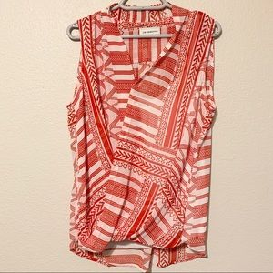 Liz Claiborne Tank With Built In Cami